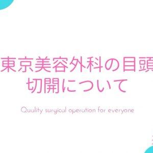 東京美容外科 目頭切開